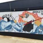 Bridgetown Aikido Mural by Jessie Weitz and Brianna Farin