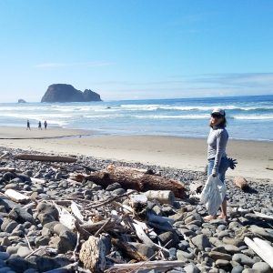 sunny oregon beach coast cleanup solve