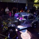 mosaic mirrored volkswagen bug
